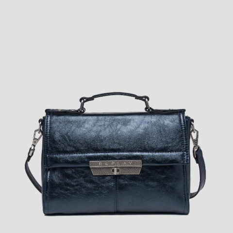 Replay Bag In Laminated Eco-Leather