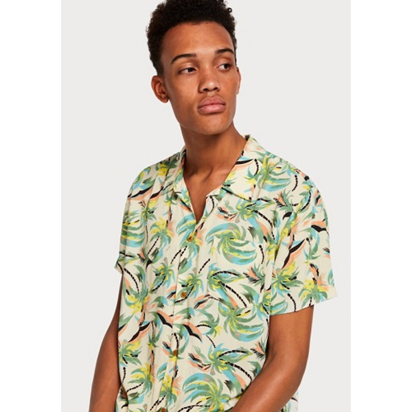 Scotch And Soda All Over Hawaii-Print