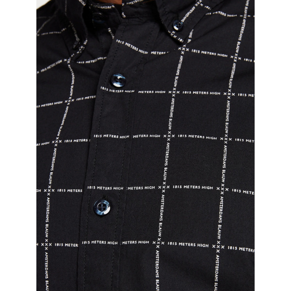 Scotch And Soda Patterned Shirt Slim