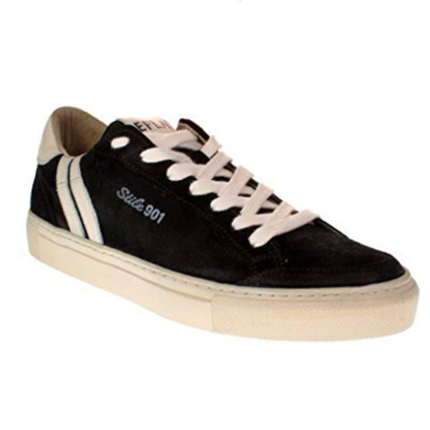 Replay Men's Sneaker Suede Black