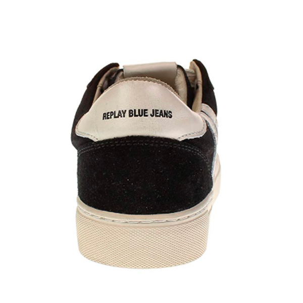 Replay Men's Sneaker Suede Black