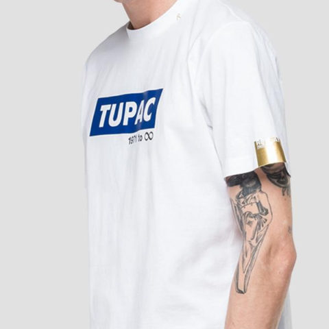 Replay Men's T-shirt Tribute Tupac 1971