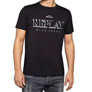 Replay Men's T-shirt Blue Jeans