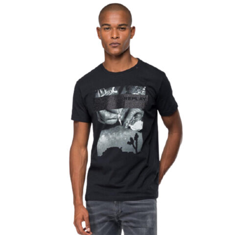Replay Men's Tattoo Print T-shirt