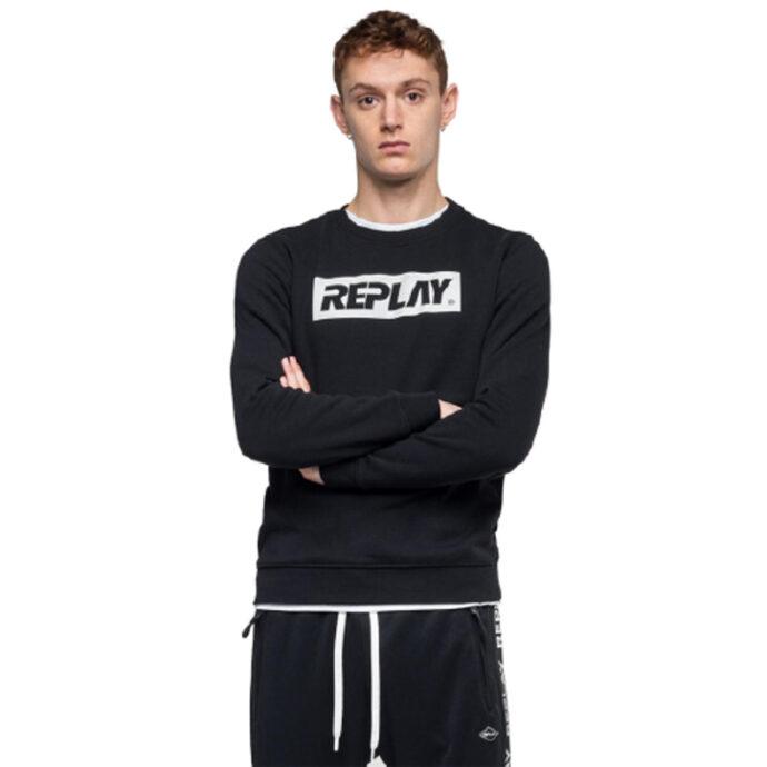 Replay Men's Sweatshirt Writing