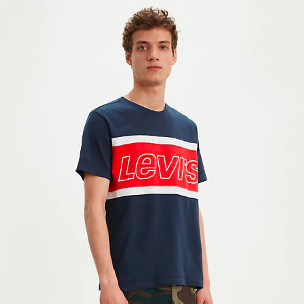 Levi's Men's Colorblock T-shirt-Multi-Color