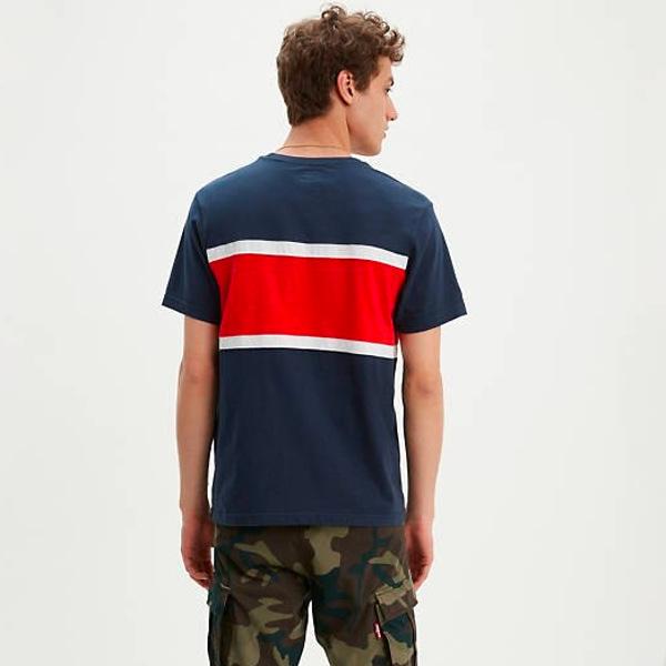 Levi's Men's Colorblock T-shirt-Multi-Color