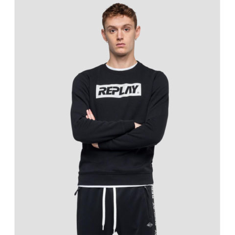 Replay Men's Sweatshirt Writing
