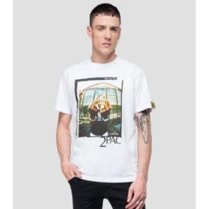 Replay Men's T-shirt Tribute 2Pac