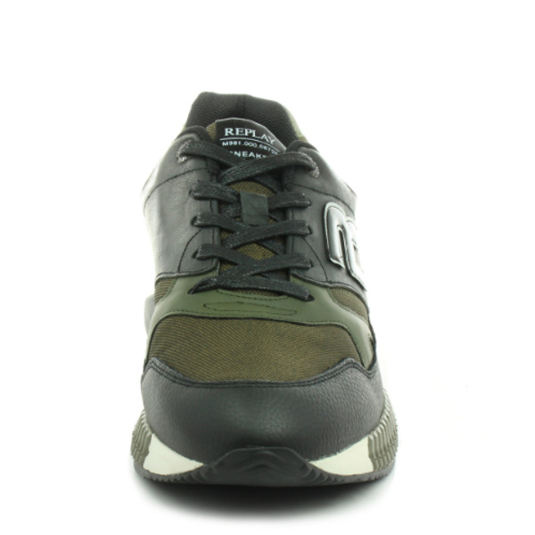 Replay Men's Whitestream Lace up Sneakers