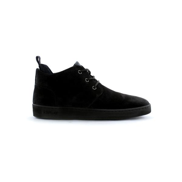 Replay Men's Hamptom Suede Mid Cut Sneakers