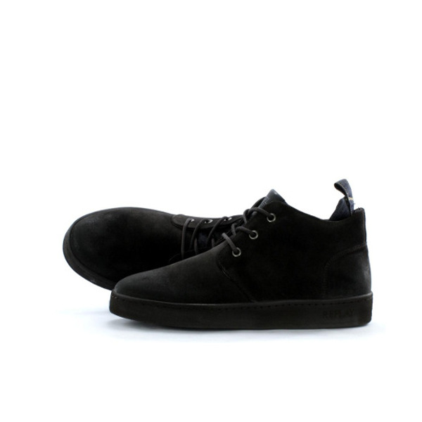 Replay Men's Hamptom Suede Mid Cut Sneakers