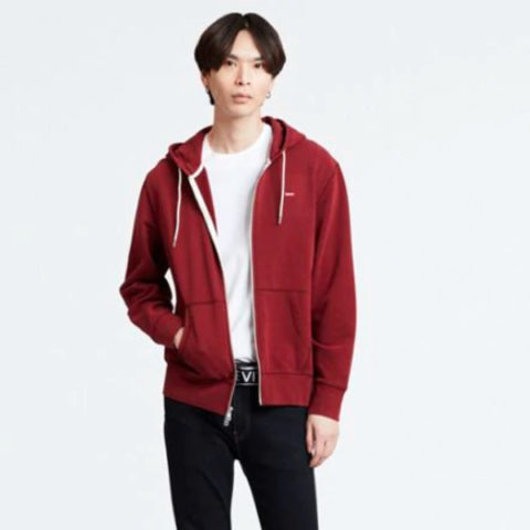 Levi's Original Housemark Zip-up Hoodie