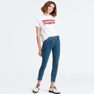 Levi's 721 High-Waisted Skinny Ankle Jeans