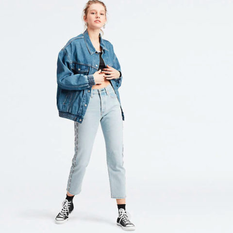 Levi's Women's 501 Crop Jeans