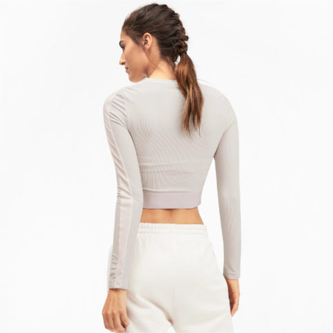 Puma Women's Long Sleeve Crop Top