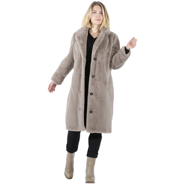 Oakwood Cyber Dark Beige Fake Fur