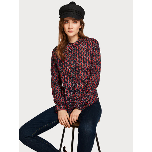 Scotch & Soda Women's Printed Shirt