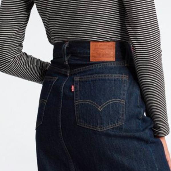 Levi's Women's Slide Slit Skirt