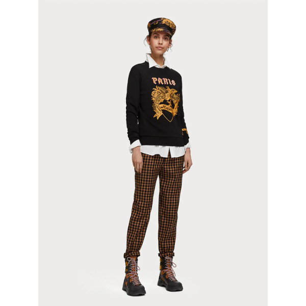 Scotch & Soda Mixed Artwork Sweater