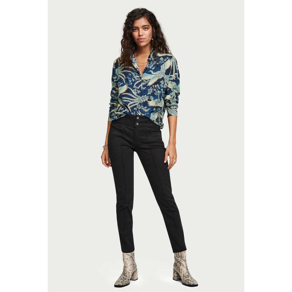 Scotch & Soda Crane Print Blouse/Shirt