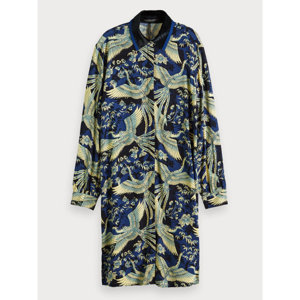 Scotch & Soda Phoenix Print Shirt Dress