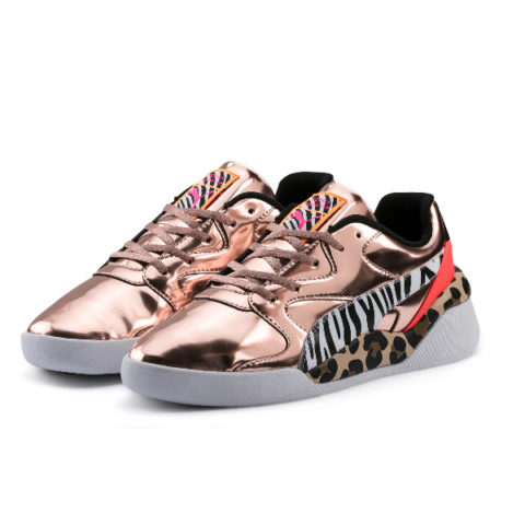 Puma Women's Aeon Sophia Webster Sneaker Rose Gold 37012 01