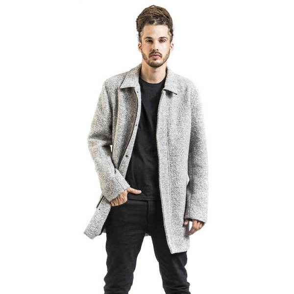 Shine Original Men's Coat Omar Grey/Mel
