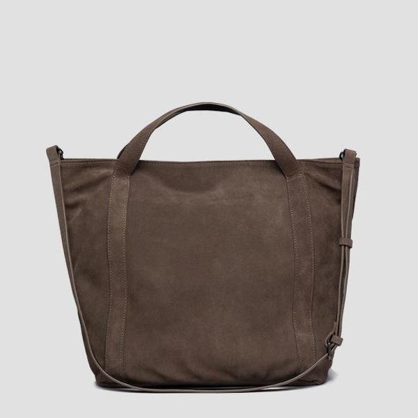 Replay Women's Shopper Bag In Suede