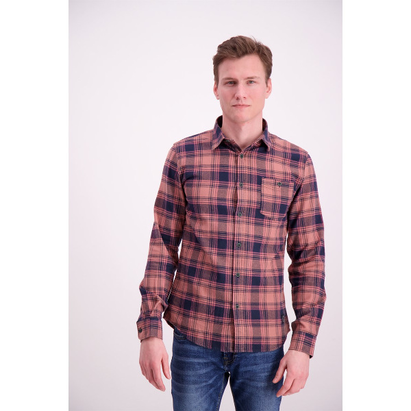 Shine Original Men's Checkered Shirt Dusty/Pink
