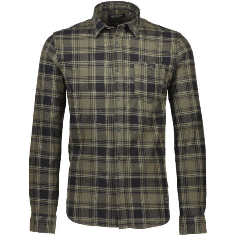 Shine Original Men's Shirt Checkered Army