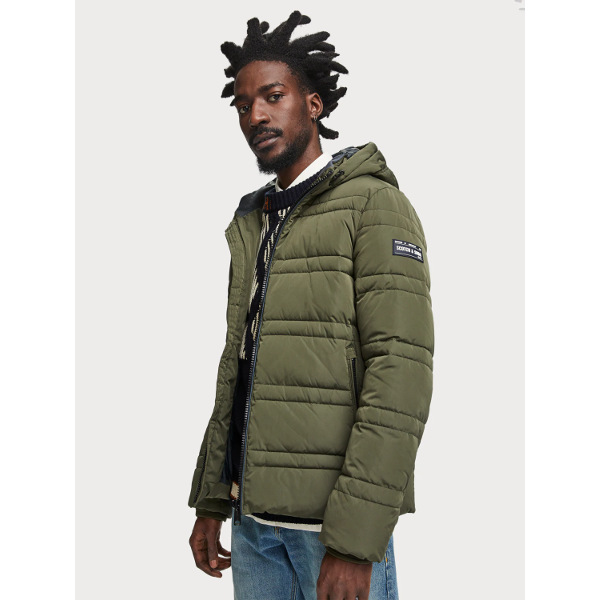Scotch & Soda Quilted Puffer Jacket