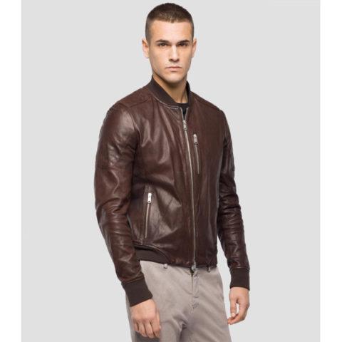 Replay Men's Jacket Crust Lamb Skin