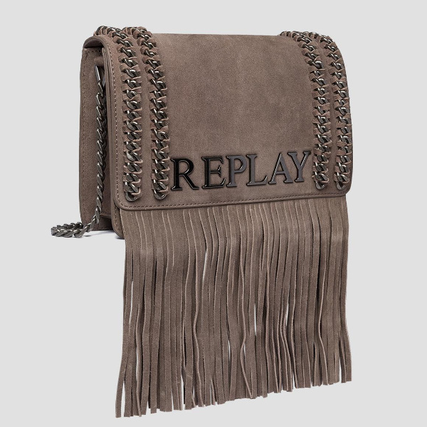 Replay Women's Shoulder Bag With Fringes