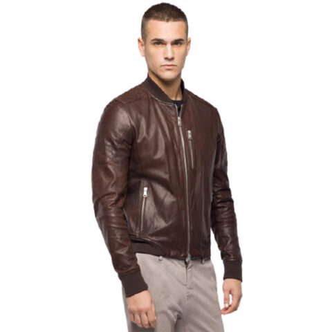 Replay Men's Jacket Crust Lamb Skin