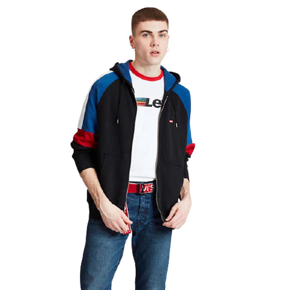 Levi's® Pieced Fullzip Hoodie Multi Colour