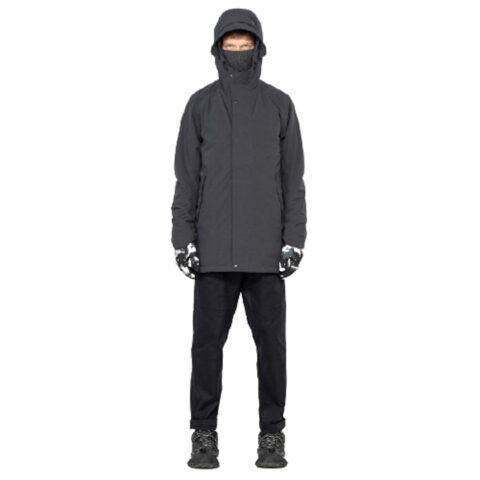 Krakatau Men's Technical Parka Grey