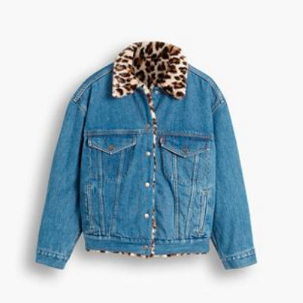 Levi's® Fur Dad Trucker Cat Eye