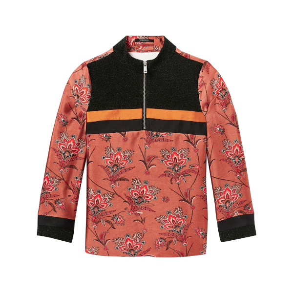 Scotch & Soda Sporty Zip-Up Top