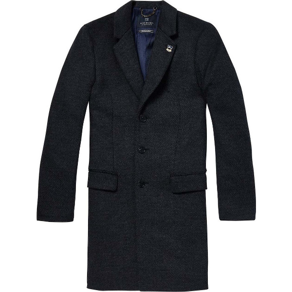 Scotch & Soda Men's Coat Herringbone
