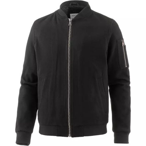 Shine Original Men's Wool Mix Bomber