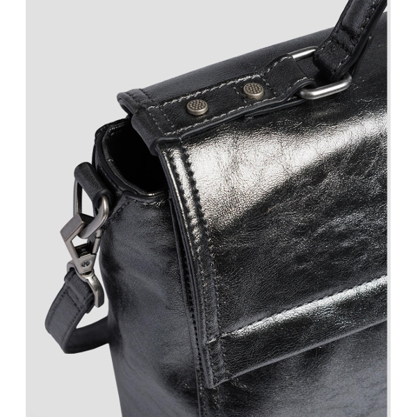Replay Women's Handbag In Laminated Eco-Leather