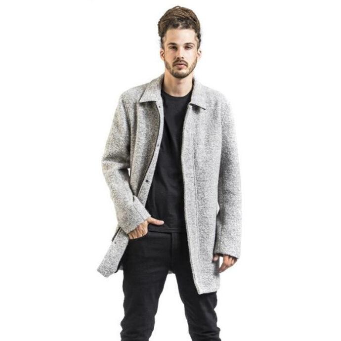 Shine Original Men's Coat Omar Grey/Mel