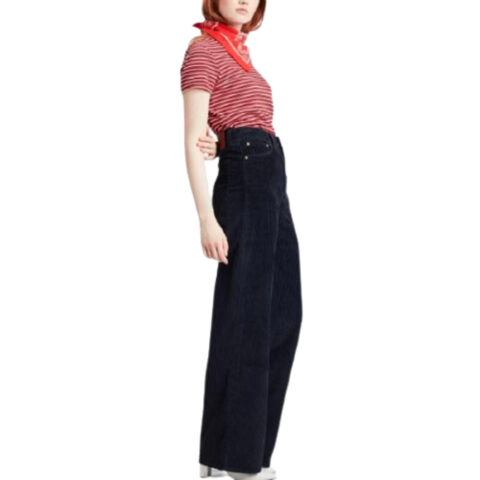 Levi's® Women's Ribcage Wide Leg Κοτλέ