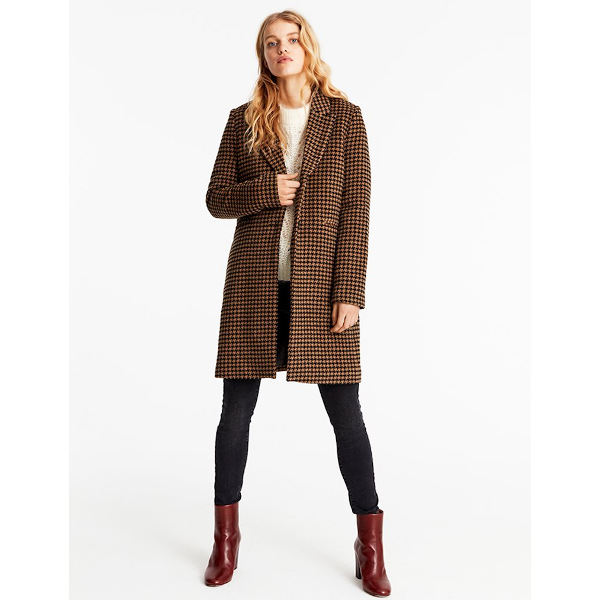 MbyM Women's Coat Petrine Brown