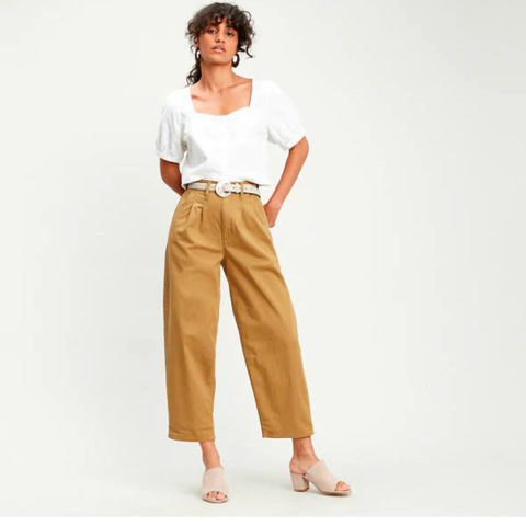 Levi's Women's Pleated Balloon Pants