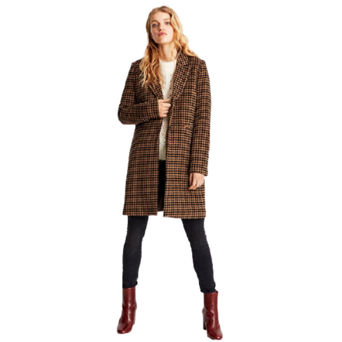MbyM Women's Coat Petrine Brown