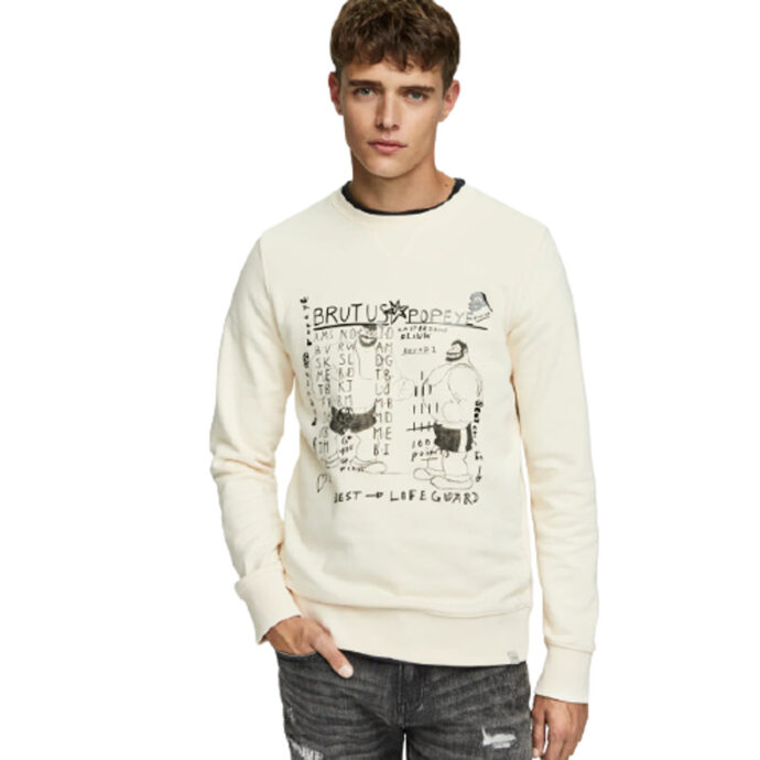 Scotch & Soda Printed Sweater Brutus