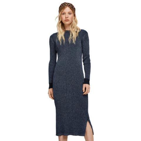 Scotch & Soda Knitted Lurex Dress