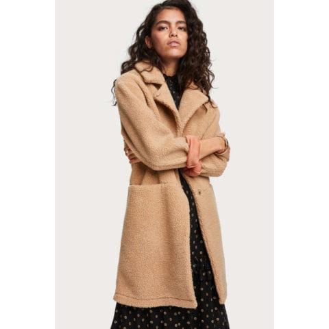 Scotch & Soda Women's Teddy Coat